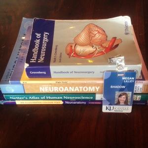 Handbook of Neurosurgery + various Neuroanatomy textbooks